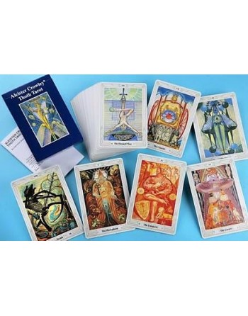 Aleister Crowley Toth Tarot...